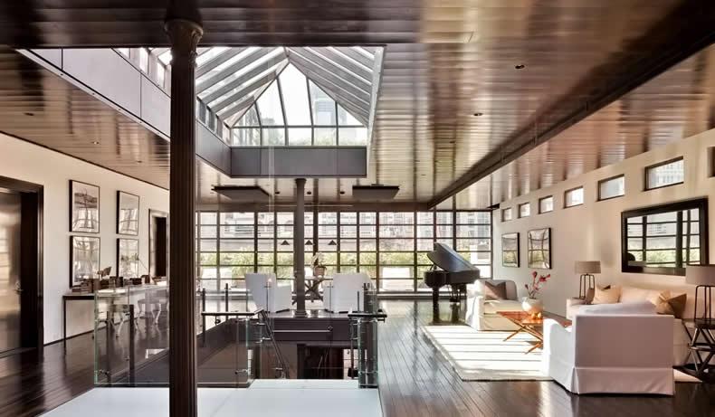 tetti piani nei loft