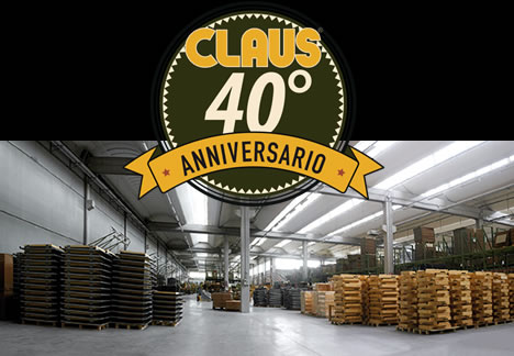 Claus: 40° anniversario -made in Italy-