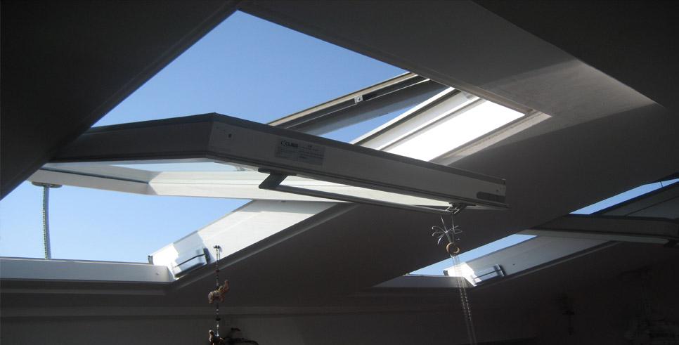 Claus finestre per tetto e mansarda lucernai e abbaini for Finestre per abbaini
