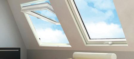 Claus finestre per tetto e mansarda lucernari e abbaini - Finestra a bilico ...